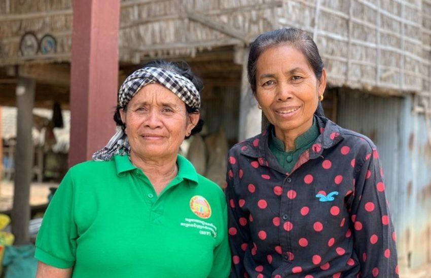 Cambodja rimpeleffect Thorn Samngath portret
