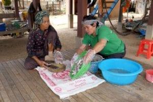 Cambodja rimpeleffect Thorn en Samngath