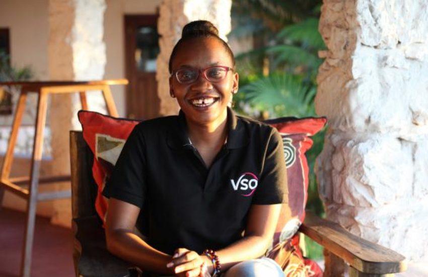 Grace Kanjange VSO Tanzania corona ondernemers
